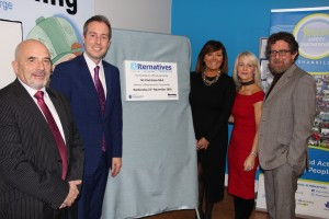 Government Minister Formally Opens Alternatives New Premises