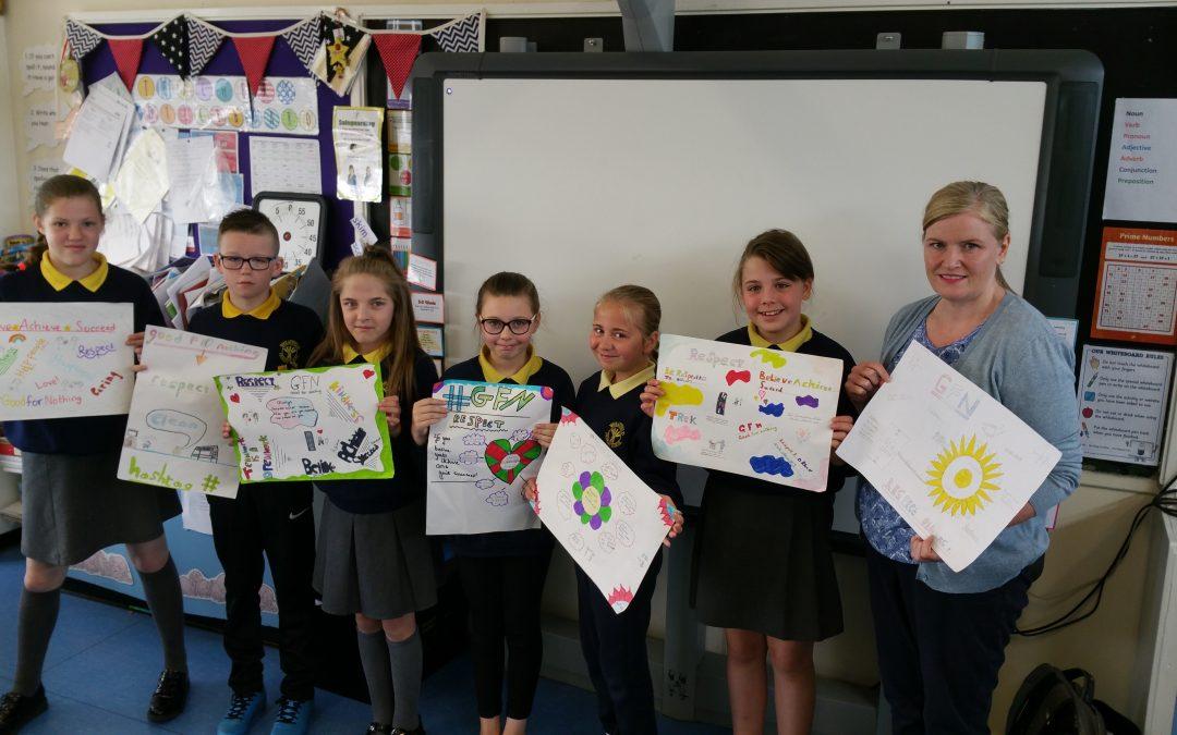 Alternatives- RESPECT Mural- Wheatfield Primary School