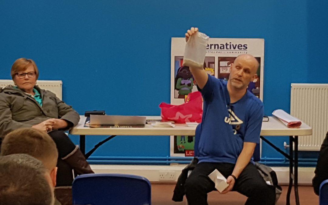 #1PillWillKill Event at Shankill Alternatives